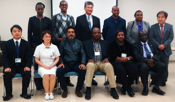Kenyan Health Experts visit Japan for a UHC Study