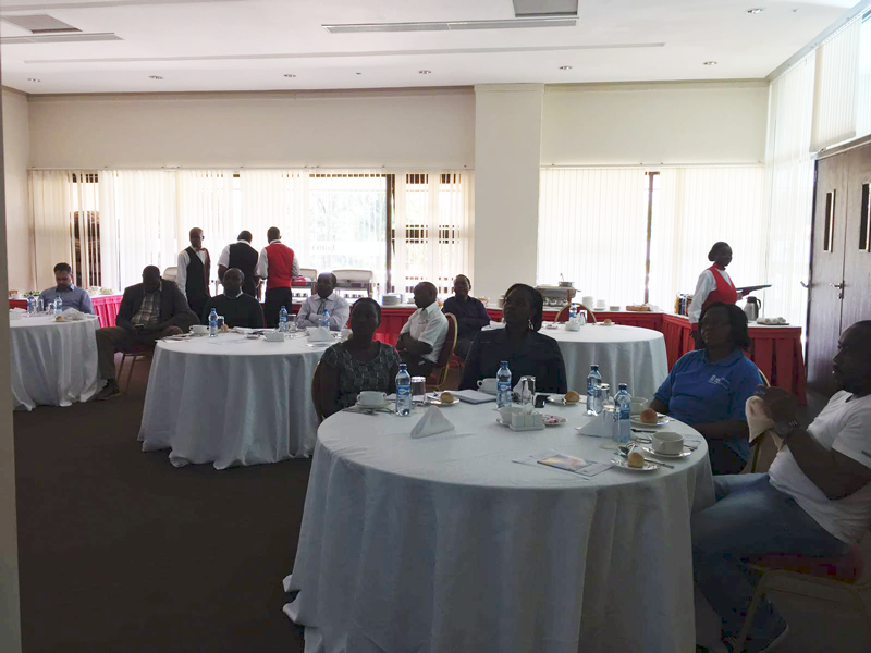KHF Reaches Out	To The Counties In An Exclusive Lunch Meeting In Eldoret