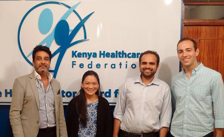 MBA Students from Colombia University visit KHF