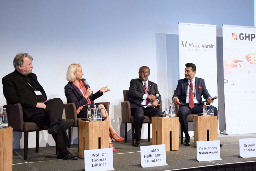 KHF Participates in the German-African Healthcare Symposium 2017 Berlin