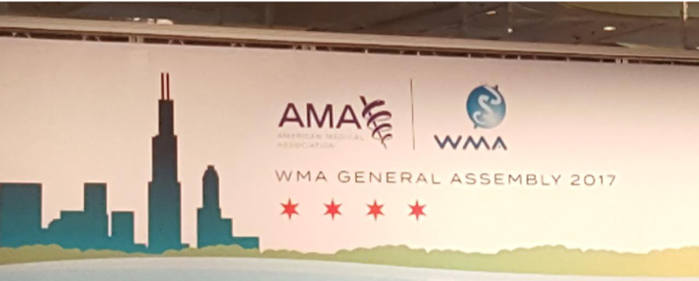 The World Medical Association (WMA) General Assembly, Chicago